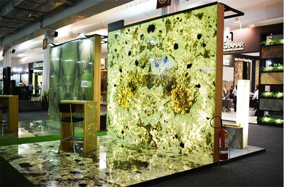 Feira Internacional do Mármore e Granito reúne grandes empresas do setor de rochas