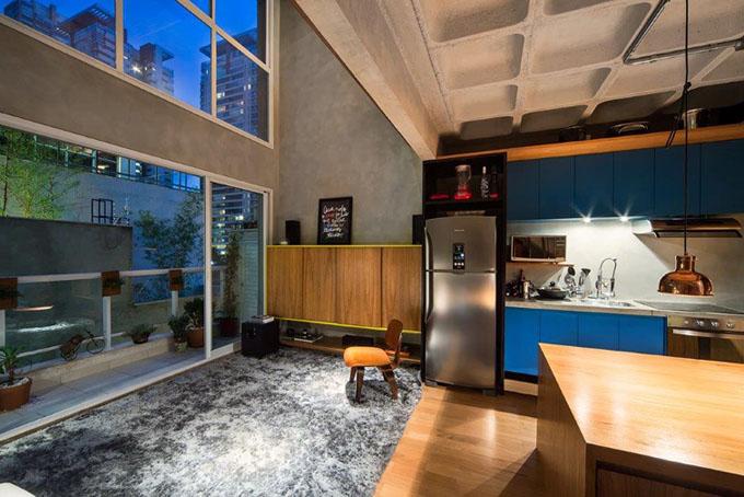 Escritório de arquitetura transforma apartamento em lar funcional