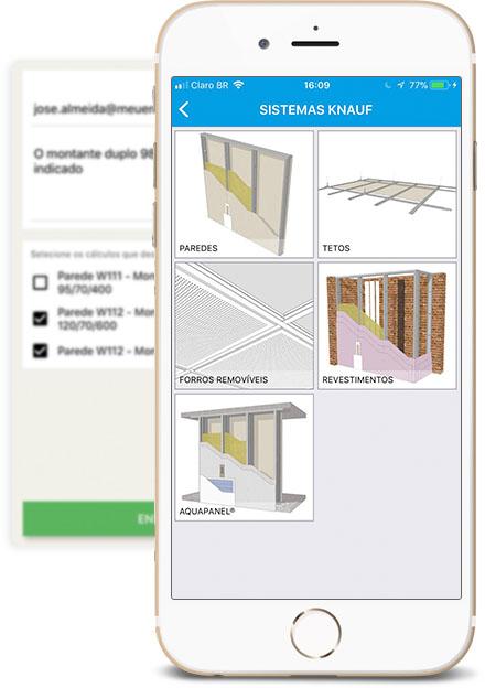 Knauf do Brasil lança aplicativo para cálculo de materiais