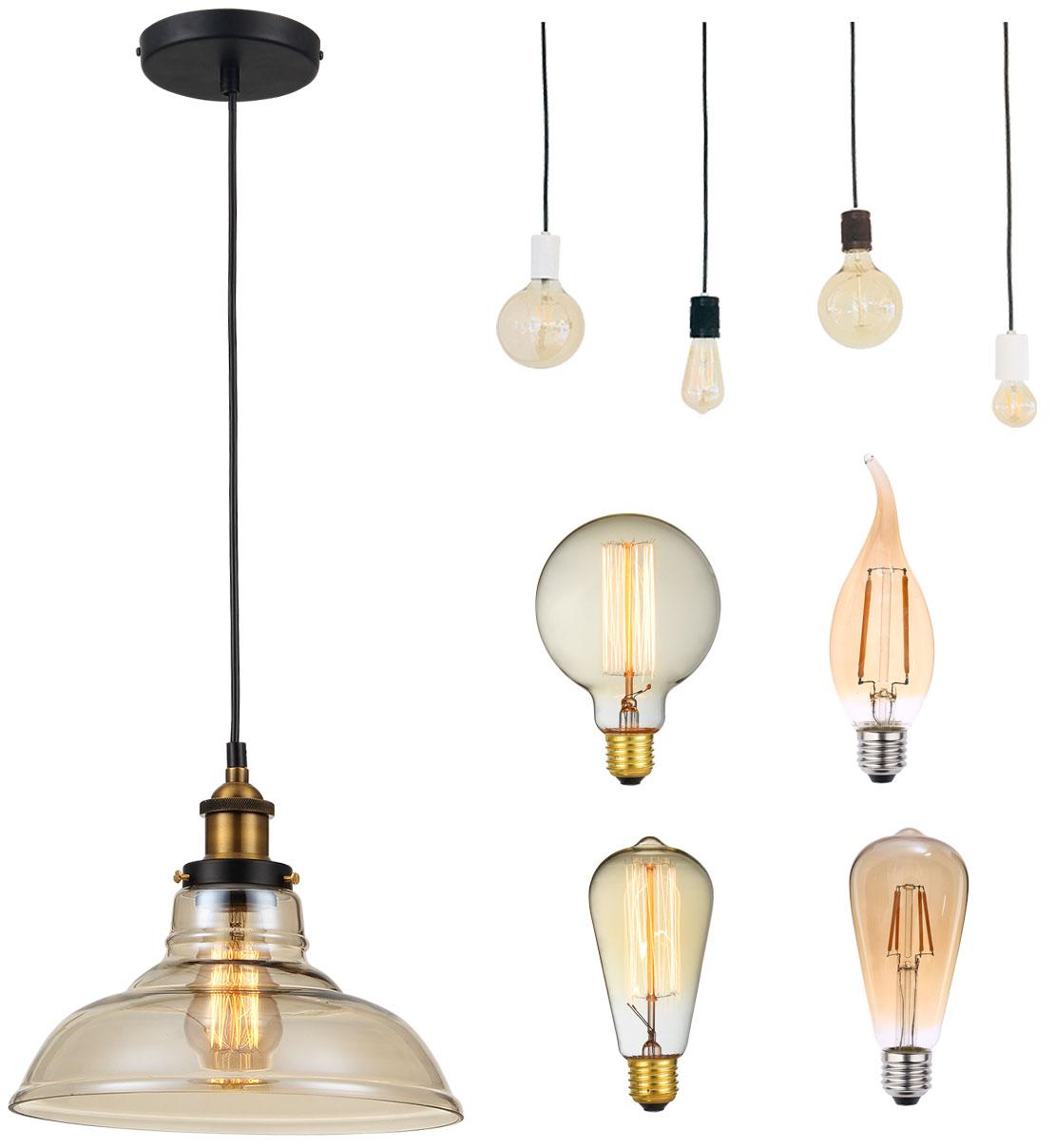 Lâmpadas e pendentes em estilo retrô chegam ao mix da Blumenau Iluminação