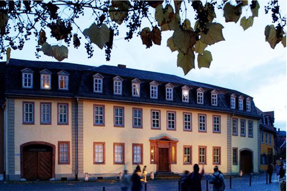 Casa do Goethe em Weimar