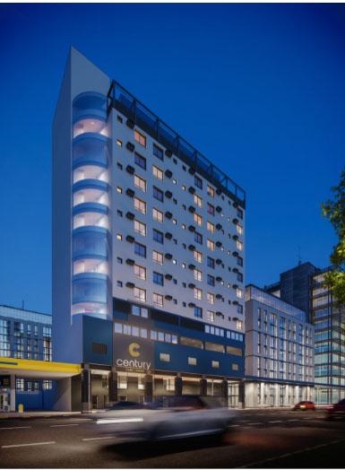 Century Park abre as portas inspirado no conceito atual retrofit pronto para morar