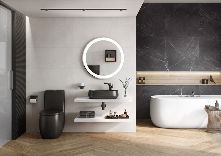 Roca destaca cores para louças de banheiros