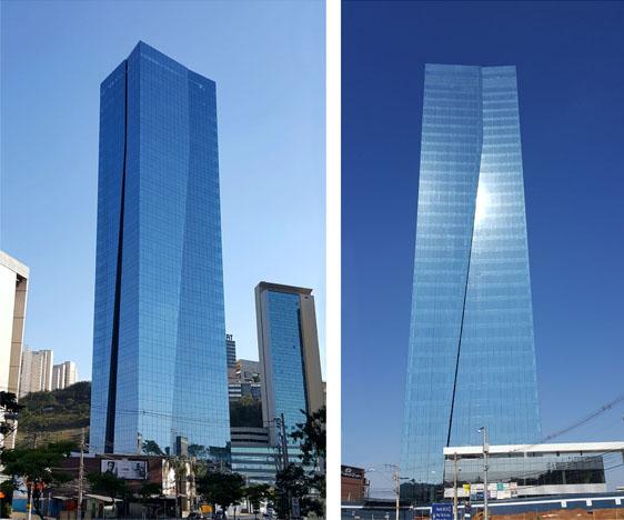 Conheça o novo edifício, feito em aço, mais alto do Brasil