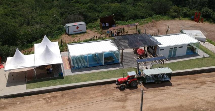 Parque de aventura em Pernambuco é exemplo de construção sustentável