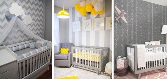 Cor neutra é a novidade na decoração do quarto do bebê