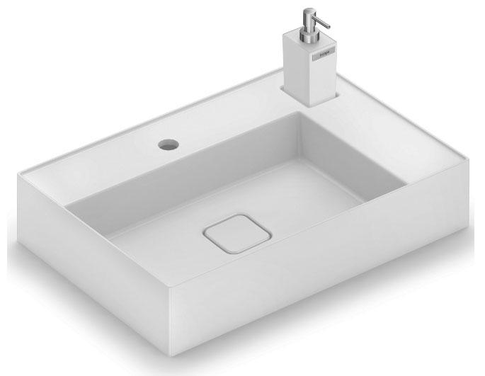 Incepa alia design e funcionalidade em sua nova linha de cubas de apoio