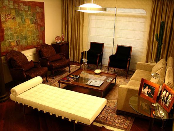Estilo contemporâneo une sofisticação e conforto no décor