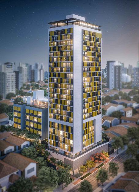 Incorporadora You lança torre de apartamentos projetada para aluguéis de curta duração