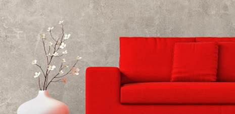 Efeito Concreto traz modernidade para as paredes da casa