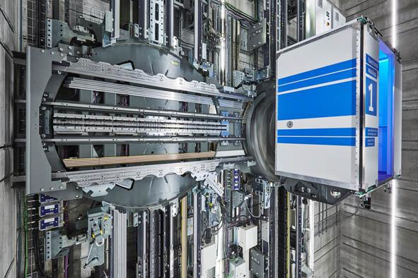 O elevador MULTI da thyssenkrupp é finalista do Prêmio de Inovação Urban Habitat