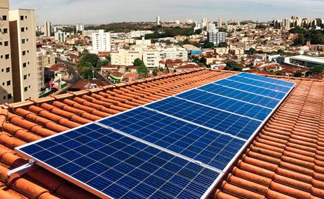 Energia solar é tendência no mercado de construção