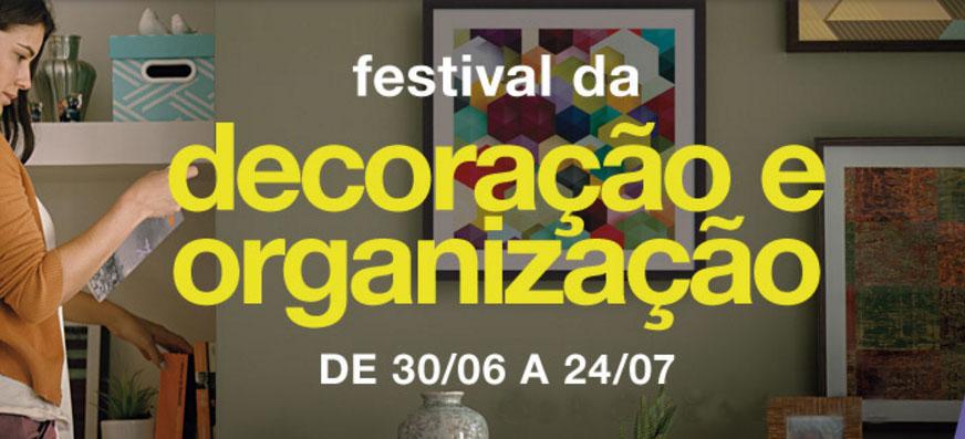 Festival da Leroy Merlin inspira a decoração e a organização nos lares