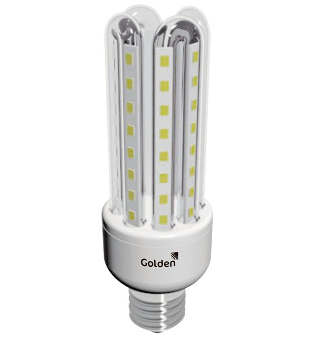 Golden lança modelo Bulbo 4U com tecnologia LED