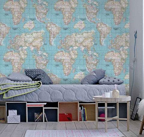 Mapa Mundi Allegra Muresco