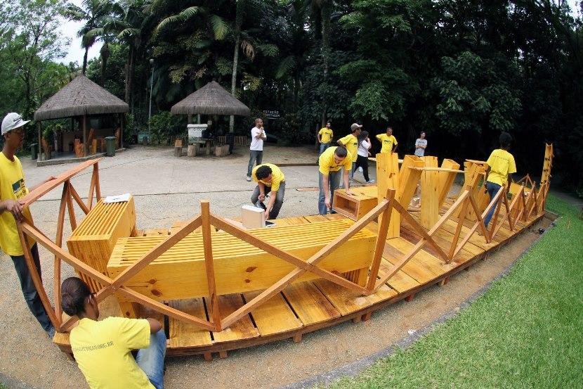 Parque de SP ganha circuito de parklets artísticos