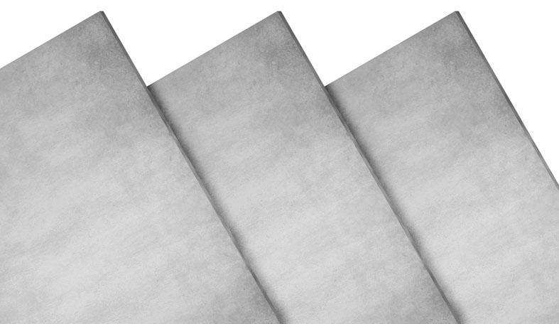 Placas cimentícias fabricadas pela Infibra