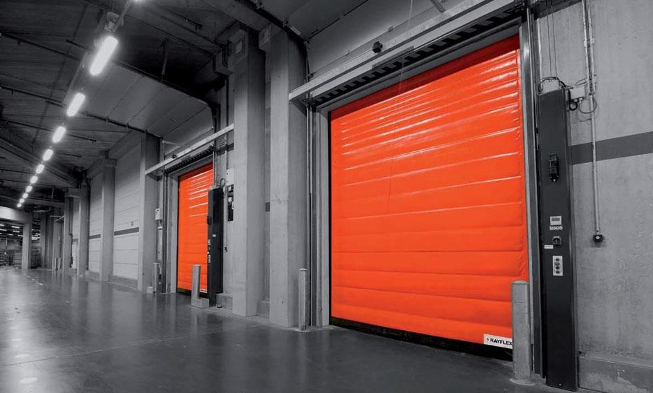 Portas rápidas controlam temperatura nas indústrias