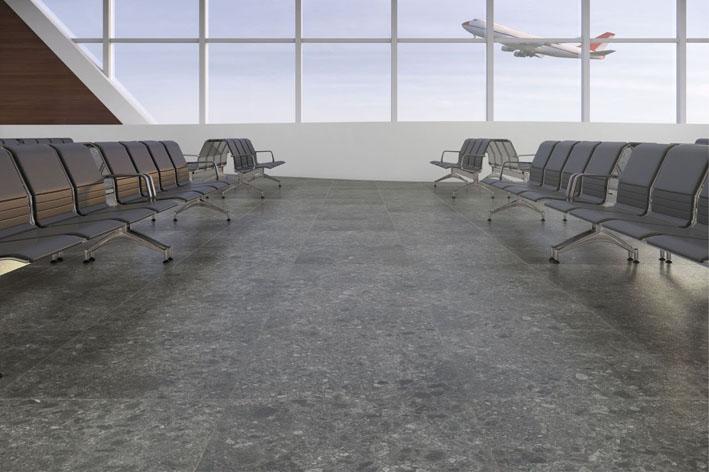 Ágata carbono foi o escolhido para projeto de aeroporto