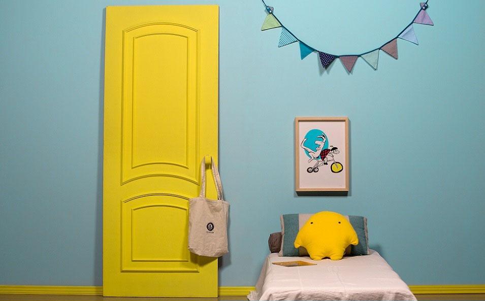 Transforme os quartos infantis com muita cor e criatividade