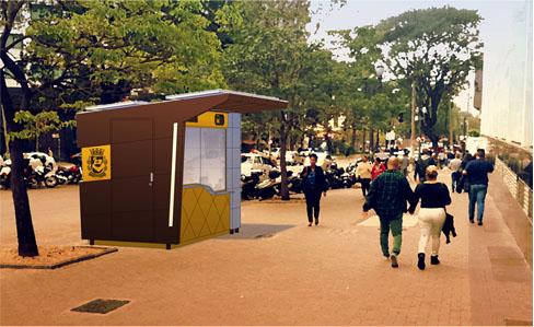 Como seria um mobiliário urbano ideal para a cidade de São Paulo
