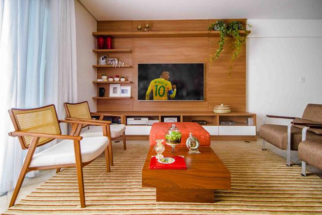 Profissionais da decoração reúnem dicas para colocar a casa em clima de Copa do Mundo