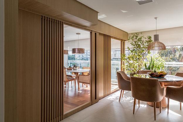 Sala de estar - Projeto de Ana Yoshida | Foto: Evelyn Müller