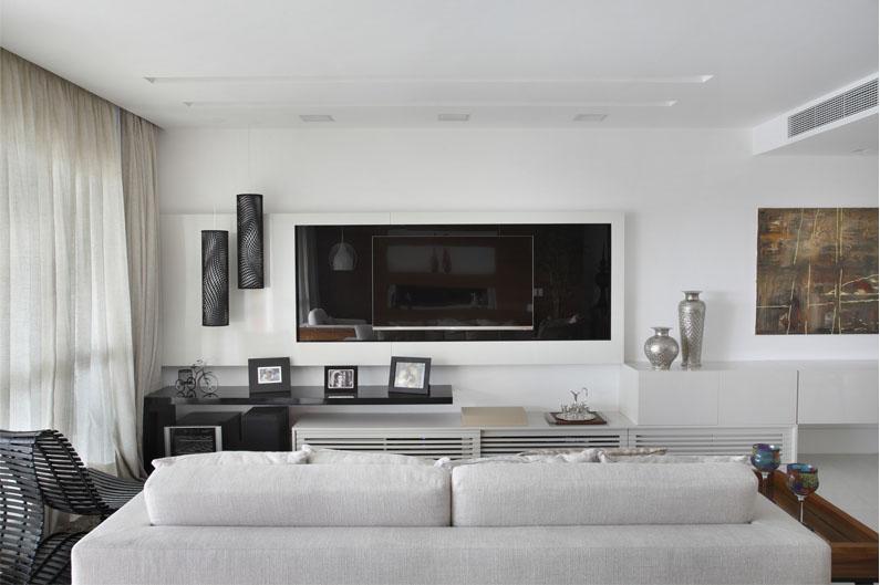 Sala De Tv Estreita ~ Arquiteta dá dicas para sala de TV  Guia Construir e Reformar