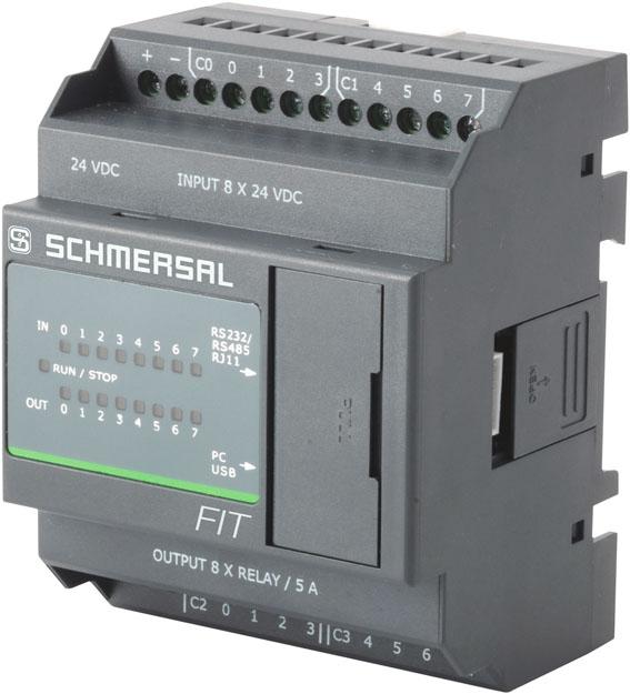 Minicontrolador FIT está disponível em diversas configurações e módulos