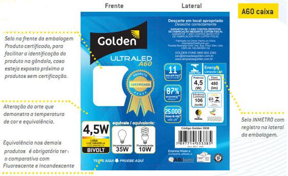 Proibida a venda de LED sem certificação