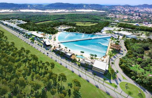 Surfland Garopaba apresenta empreendimento compartilhado com piscina de ondas inédita no país