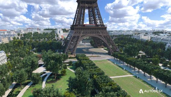 Paris nomeia equipe para recriar a paisagem da Torre Eiffel usando BIM