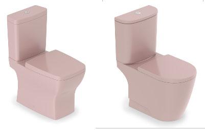 Vaso sanitário com caixa acoplada da linha Boss e Neo.