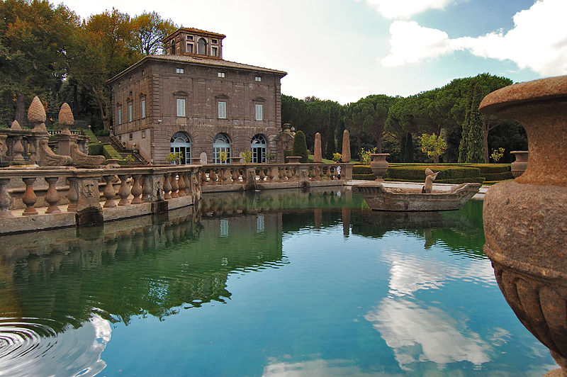 Villa Lante em Bagnaia