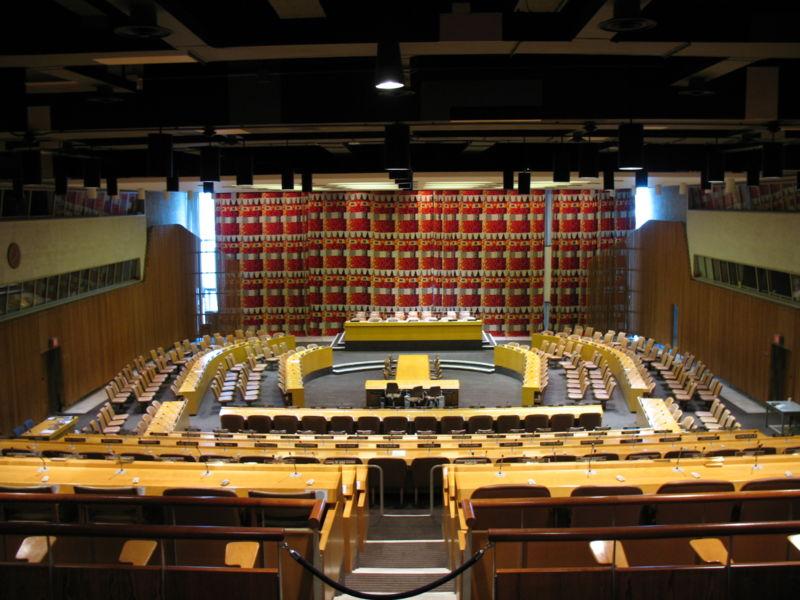 Sala do Conselho Económico e Social das Nações Unidas